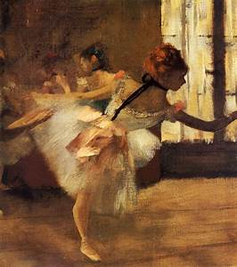 Repetition of the Dance (detail), 1877 - Edgar Degas ...