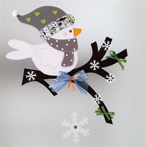 Fensterdeko Weihnachten Zweige by Fensterbild Vogel Auf Dem Zweig Winter 2 Weihnachten