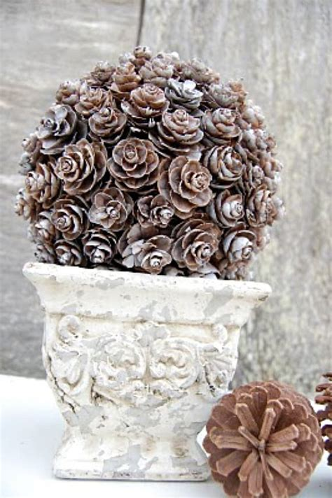 pinecone craft 5 pine cone diy projects for fall pine cone craft ideas