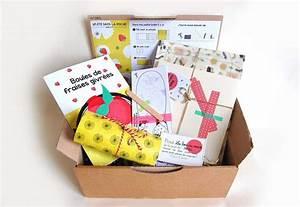 Petite Boite En Carton : petite bo te en carton juillet 2015 la box du mois avis et tests de box mensuelles ~ Teatrodelosmanantiales.com Idées de Décoration