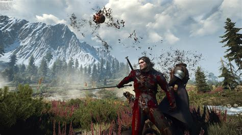 blood at the witcher 3 nexus mods and community