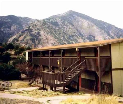 big bend national park cabins page showing current activity and history