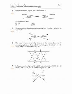 Jmap Worksheets By Topic Angles  Complementary