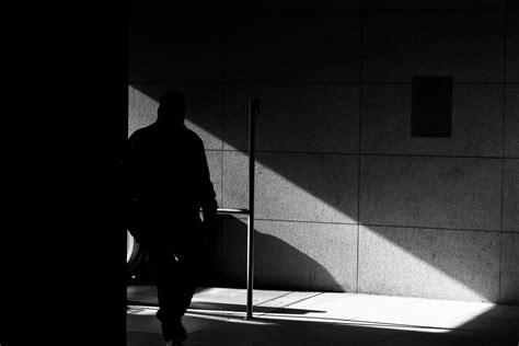 november  germany black  white street photography