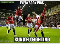 Everybody was Kung Fu Fighting Troll Football