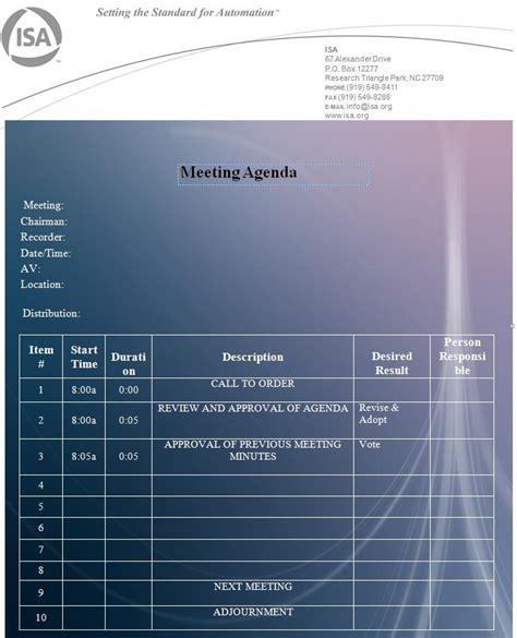agenda template graphics  templates