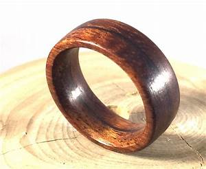 Mens Ring Wooden Ring Mens Wood Ringwood Ring Koa Wood