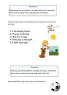 year 1 spag grammar worksheets by catmac01 teaching