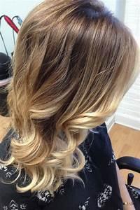 Ombré Hair Blond Foncé : soft golden blonde with balayage olaplex and embee meche by amy assante at church salon in ~ Nature-et-papiers.com Idées de Décoration