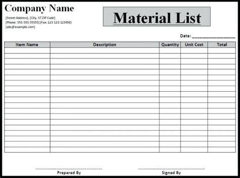 bill  materials  paystub format