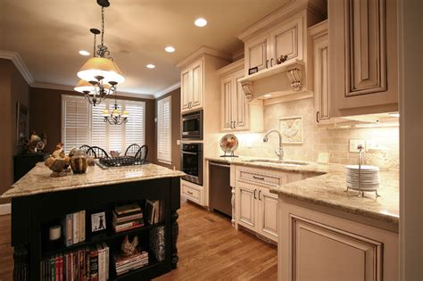 French Country-traditional-kitchen-charlotte-by