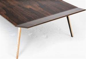 blackburn coffee table with polished ziricote wood and With polished wood coffee table