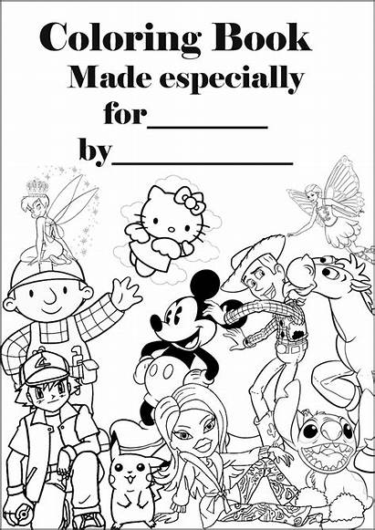 Coloring Printable Pages Colouring Books Covers Sheets