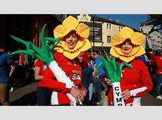 Fans soak up the atmosphere ahead of WalesFiji match