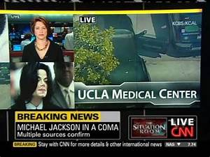 CNN breaking news - Michael Jackson in a coma - YouTube