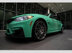 BMW Individual Mint Green M3 Competition Is A True OneOff