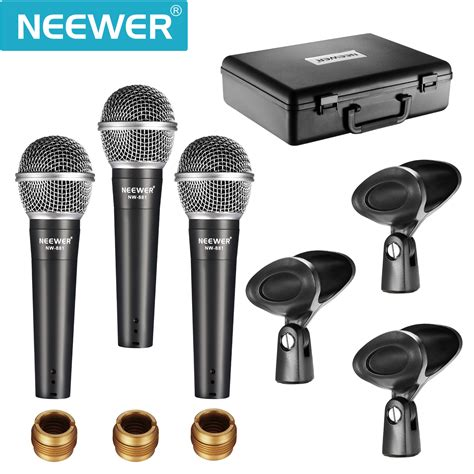 neewer nw 881 dynamic vocal recording microphone set ebay