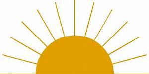 Best Half Sun Clipart #16238 - Clipartion.com