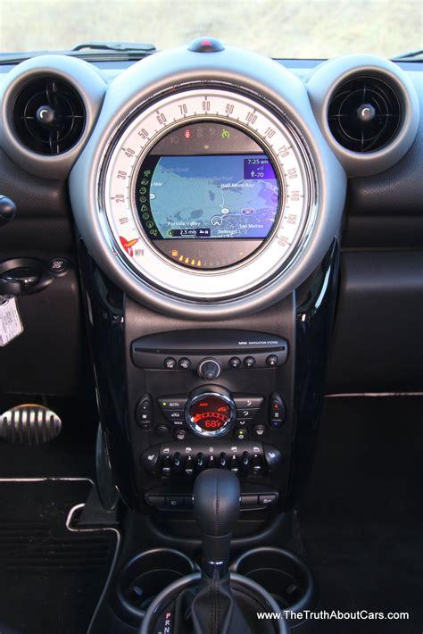 mini countryman interior dashboard photography