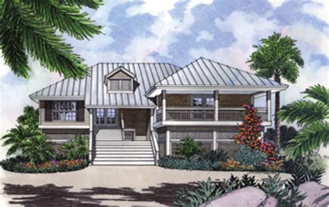 guest cottage floor plans stilt house plan with decks and charm