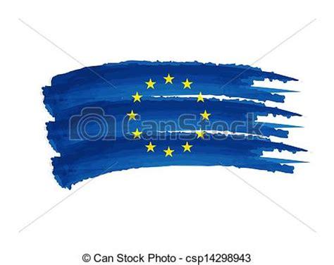 european union flag drawing european union flag