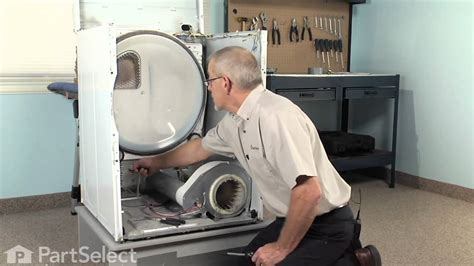 dryer repair replacing the high limit thermal fuse whirlpool part 40113801