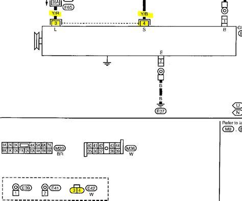 Alternater Nissan Sentra Engine Diagram