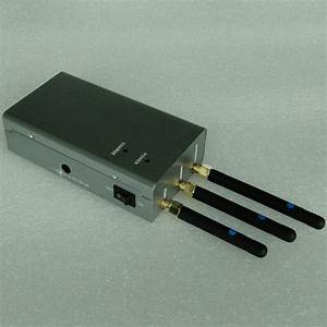 Handheld Gps Jammer And Mobile Phone Jammer