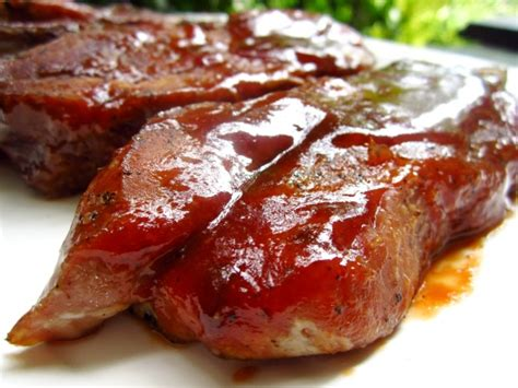 Grilled Bone In Country Style Pork Ribs