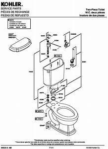 31 Kohler Toilet Parts Diagram