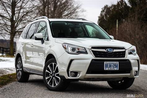 subaru forester white 2017 subaru forester 2 0xt limited doubleclutch ca