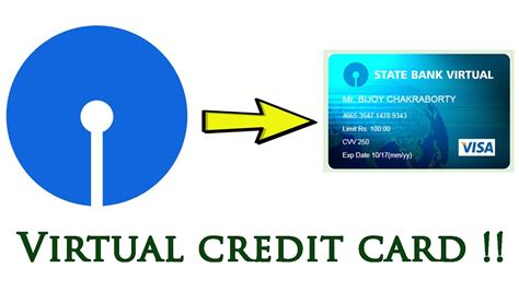 How To Make Sbi Virtual Credit Card Online Creative