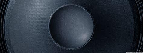 Black Speaker Background Ultra HD Desktop Background