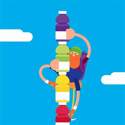 James Gifs Curran Climb Vitaminwater Drink Motivational