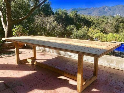 ventura teak outdoor table iksun teak patio