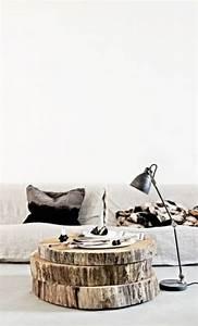 Lampe Aus Baumstamm : 50 couchtische aus baumstamm gestaltet ~ Orissabook.com Haus und Dekorationen
