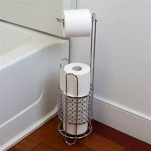 Free, Standing, Dispensing, Toilet, Paper, Holder, Chrome, -, Walmart, Com