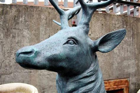 bronze 3 reindeer statue magnificent pair of lifesize bronze reindeer statues at 1stdibs