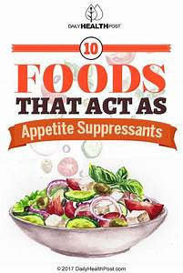 10 Foods That Act As Appetite Suppressants