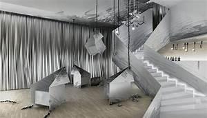 Impressive and Artistic Interior Design of Club and