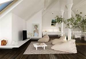 Sitz Sofa Für Esstisch : wohnzimmer ohne sofa einrichten 20 ideen und sitz alternativen ~ Whattoseeinmadrid.com Haus und Dekorationen