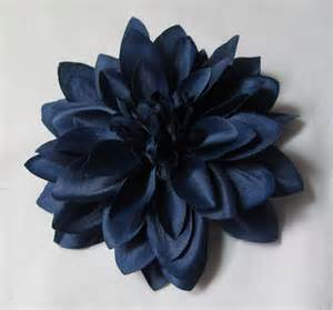 Navy Blue Dahlia Flower