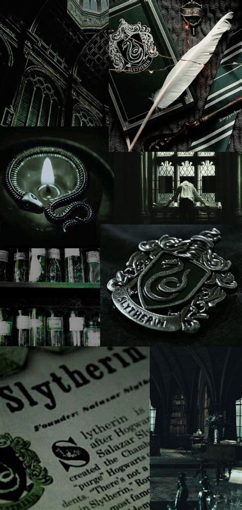 harry potter wallpaper slytherin aesthetic mwdblood