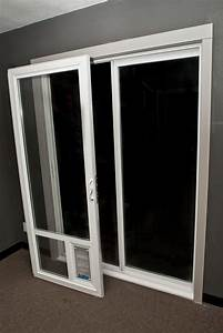 Big dog doors dog door for sliding glass door for Door with dog door in it