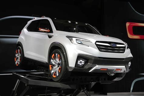 subaru viziv truck subaru viziv future concept looks great drives itself