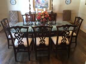 mahogany dining room set thomasville traditional mahogany dining room set with 9 pieces ebay