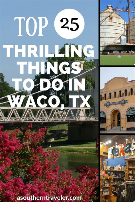 waco texas travel tx things vacations places vacation thrilling roadtrip spots usa magnolia visit destinations discover fixer upper canada heart