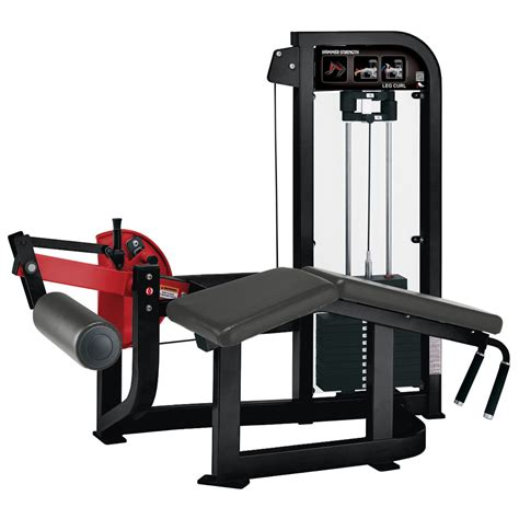 Hammer Strength Select Leg Curl  Used Gym & Fitness Equipment