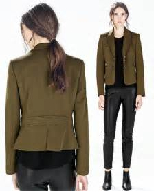 women spring jackets 2015 womens military jackets and