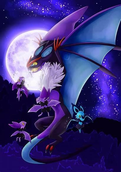 Pokemon Anime Kalos Aventura Mas Noivern Dragon